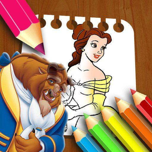 Beauty & the Beast Coloring Book