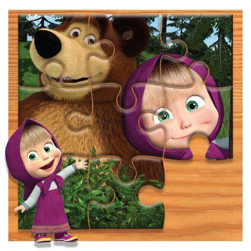 Masha and the Bear Jigsaw Puzzle